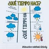 Weather / El Tiempo Interactive Notebook Activity