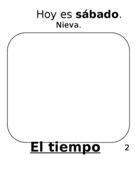 Weather-El tiempo