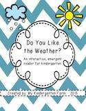 Weather Emergent Reader