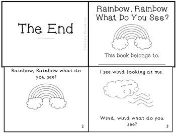 Weather Emergent Reader Mini-Book Set of 5!