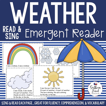 Weather Shared Reading Read & Sing Early Reader