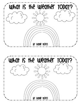 Weather Emergent Readers