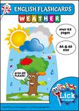 Weather - English Flashcards