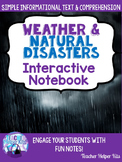 Weather-Extreme Weather-Interactive Notebook