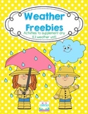 Weather FREEBIES