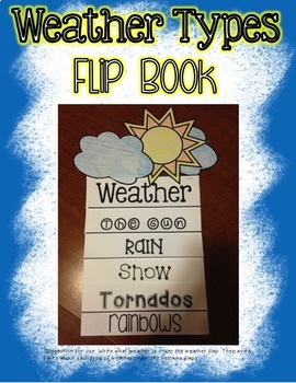 Weather Fact Flip Books