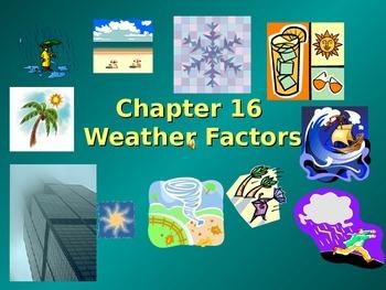 Weather Factors - PowerPoint