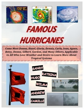 Weather: Famous HURRICANE Activities (COLOR Loaded!) Perfe