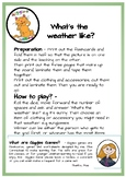 Weather Flashcards and Board game