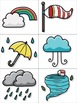 Weather Flashcards for VIPKid & the Virtual ESL Classroom - Classroom Props
