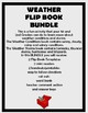 Weather Flip Book Bundle