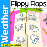 Weather Activities Interactive Notebook Lapbook