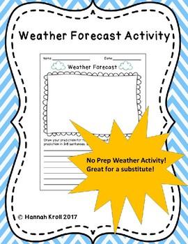 Weather Forecast Activity