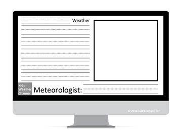Weather Forecast Writing