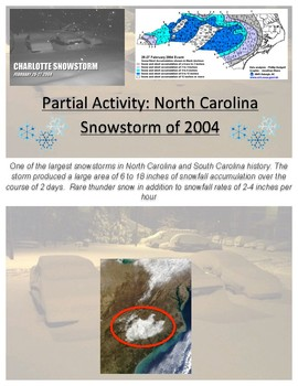 Weather: Snowstorm Forecasting Case Study - FREE section of FULL VERSION