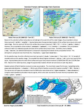 Weather:Professional Meteorology:Snowstorm Case Study-Surface & Upper Air