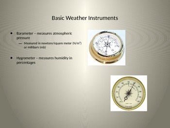 Weather Forecasting PowerPoint