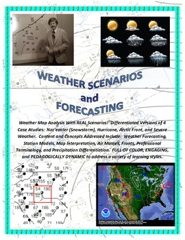 Weather Forecasting: Real Scenarios and Case Studies (GREAT MAPS!)