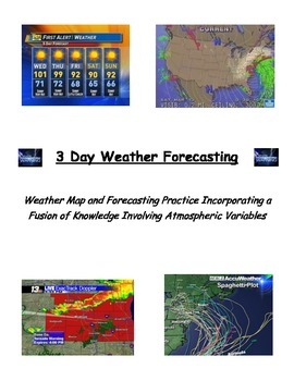 Weather:  Forecasting - VERY POPULAR!!!  (2 Ability Levels COMBO)