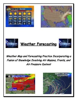 Weather:  Forecasting - VERY POPULAR!!!  (Modified Level 2)