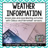 Weather Forecasts and Reports Lesson Plan and Activity