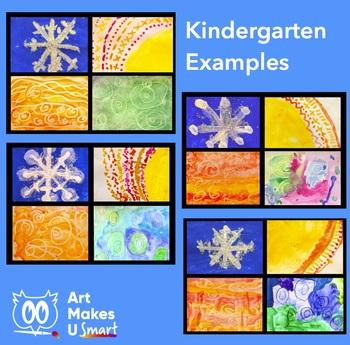 STEAM Art Lesson Weather Four Ways - Multi Media Art Lesson Powerpoint