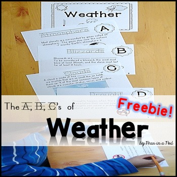 Free Weather ABC Book