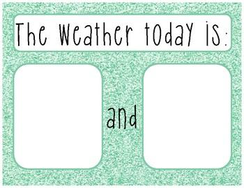 Weather Freebie