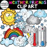 Weather Friends Clip Art {Weather Clip Art}