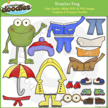 Weather Frog Dress Up