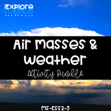 Weather Fronts and Air Masses: 5E & NGSS Unit Storyline (M