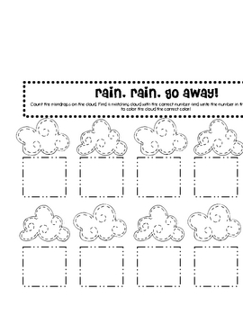 Weather Fun! Math and Literacy Activities for the Primary Classroom