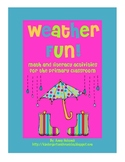 Weather Fun! Math and Literacy Activities for the Primary