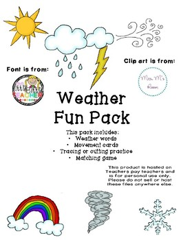 Weather Fun Pack