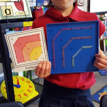 Weather Geoboard Shapes