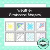 Weather Geoboard Task Cards