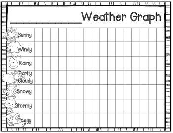 Weather Graph FREEBIE!