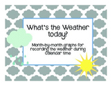Weather Graph Recording Sheets- in English!