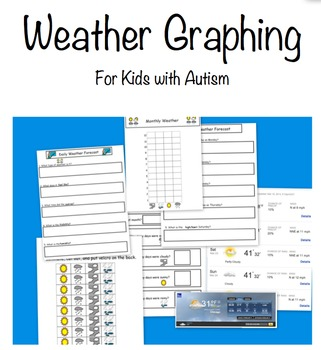 Weather Graphing for Kids with Autism