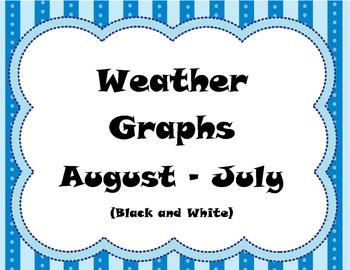 Weather Graphs B&W