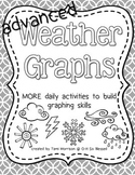 MORE Weather Graphs [extended daily activities] B&W edition