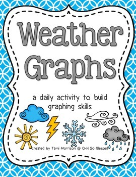 Weather Graphs [a daily activity] FULL COLOR edition