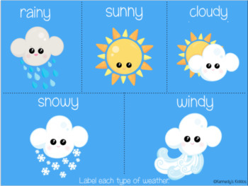 Weather (Great for Google Classroom!)