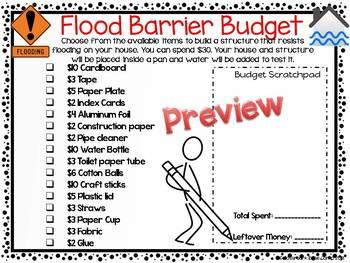 Weather Hazard STEM: Flood Barrier Challenge