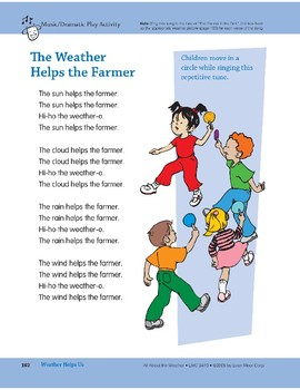 Weather Helps Us: Outdoor Activity and Circle Song
