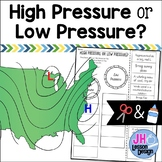Weather: High Pressure or Low Pressure? Cut and Paste Sorting Activity