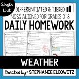 Weather Homework