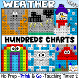 Weather Hundreds Charts l MATH CENTERS l SCIENCE