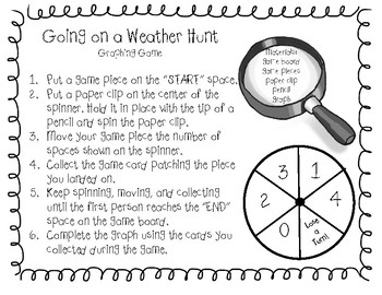 Weather Hunt Graphing Game