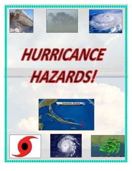 Weather:  Hurricane Hazards PECS (Great for Weather Units!)
